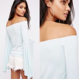 Free People | NWT Bell Sleeve Birds of Paradise